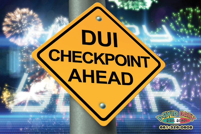 What To Expect At DUI Checkpoints This New Year's Eve | David Ortiz Bail Bonds | Visalia Bail Bond Store